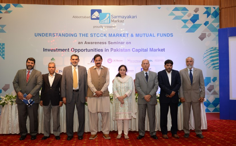 CDC, SECP organize Investor Awareness Seminar in Abbottabad  in May 2016
