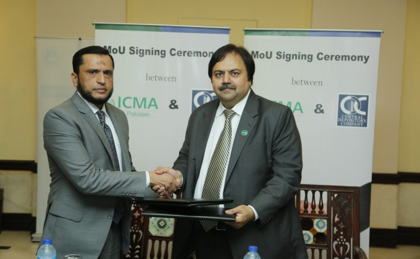 MoU Signing with Institute of Cost and Management Accountants of Pakistan (ICMAP) on August 20, 2019