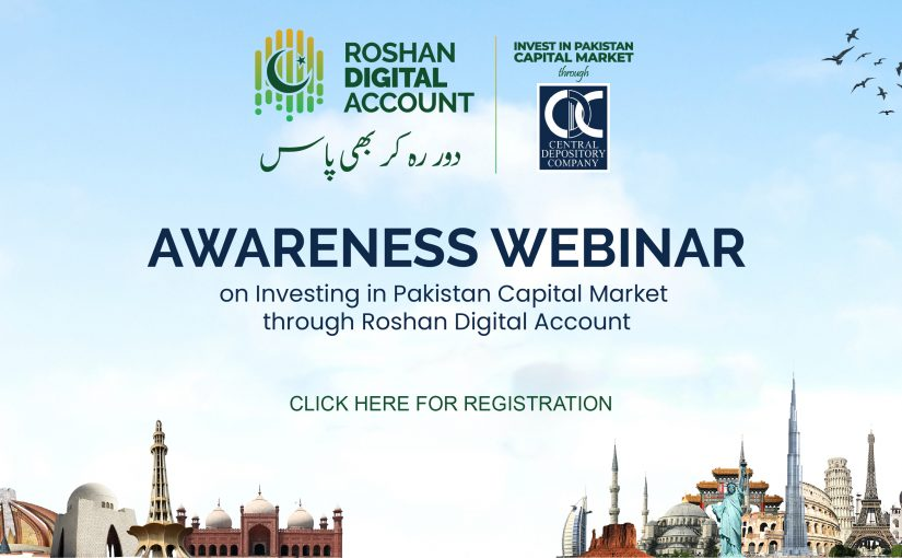 CDC to facilitate Non-Resident Pakistanis (NRP's) for investment in Roshan Digital Account (RDA)