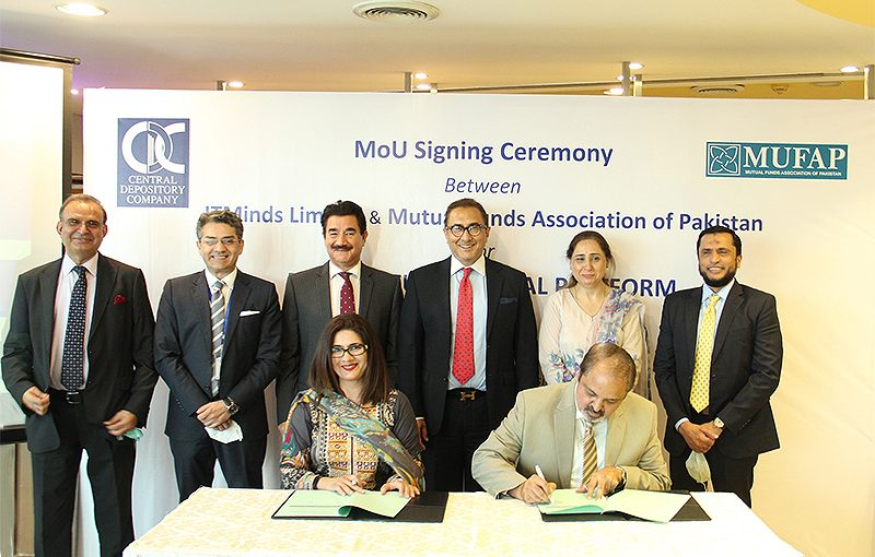 MUFAP and CDC-ITMinds Limited sign MoU for Mutual Fund Digital Platform