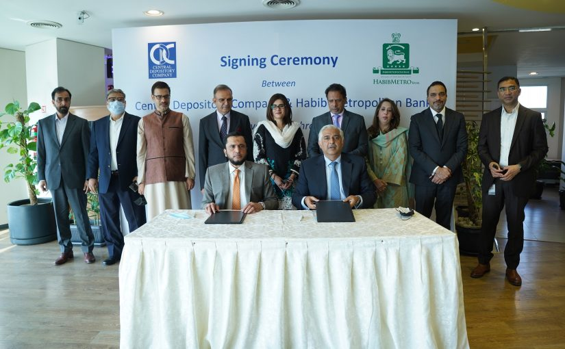 HABIBMETRO And CDC Sign Agreement For NRP Investment In PSX